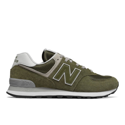 New Balance 574 Men's Sneakers Shoes - Olive Green (ML574EGO)