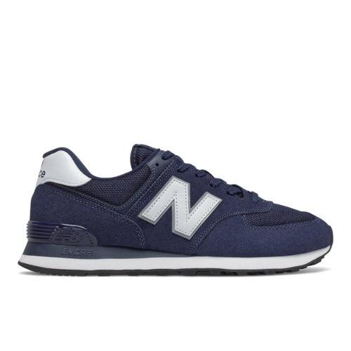 New Balance 574 Men's Lifestyle Shoes - Navy / White (ML574EN2)