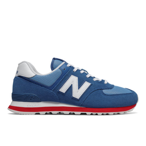 New Balance 574 Unisex Sneakers Shoes - Blue (ML574ERG)