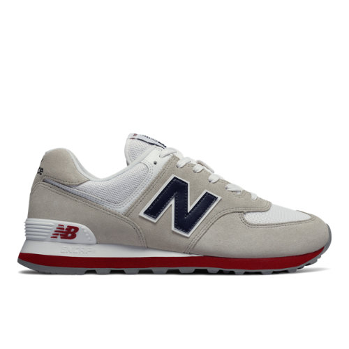 New Balance 574 Core Plus Men's Shoes - Grey (ML574ESA)