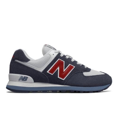 New Balance 574 Core Plus Men's Shoes - Navy (ML574ESC)