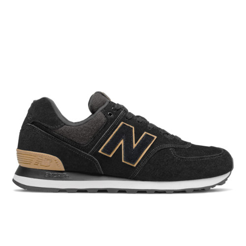 New Balance 574 Men's Lifestyle Shoes - Black (ML574JFE)