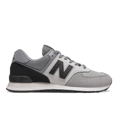 New Balance 574 Men's Lifestyle Shoes - Grey / Black (ML574JHV)