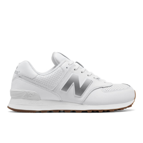 new balance 574 white mens