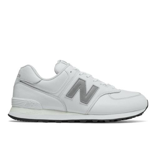 New Balance 574 Men's Sneakers Shoes - White (ML574LPW)