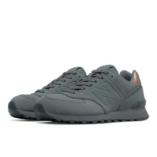 New Balance 574 Molten Metal Men's 574 Shoes - Grey (ML574MTA)