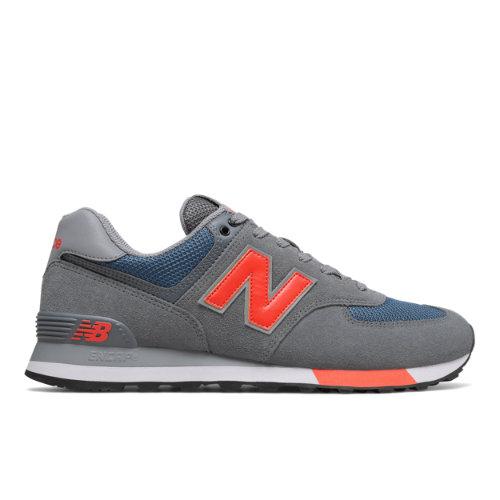 New Balance 574 Men's Sneakers Shoes - Grey (ML574NFO)