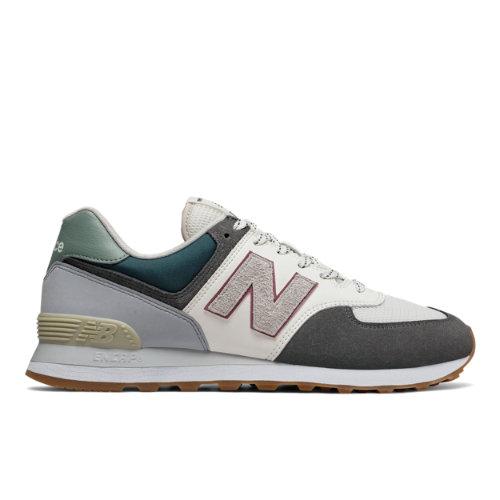 New Balance 574 Unisex Sneakers Shoes - Grey (ML574NFU)