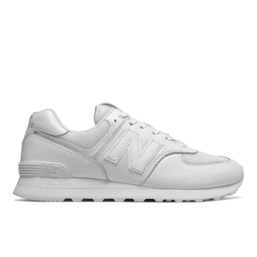 New Balance 574 Men's Shoes - White (ML574NSF)