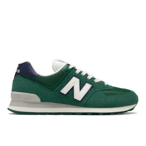 New Balance 574 Men's Shoes - Green (ML574OBD)