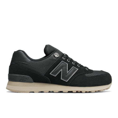 New Balance 574 Outdoor Activist Men's 574 Sneakers Shoes - Black / Sand (ML574PKP)