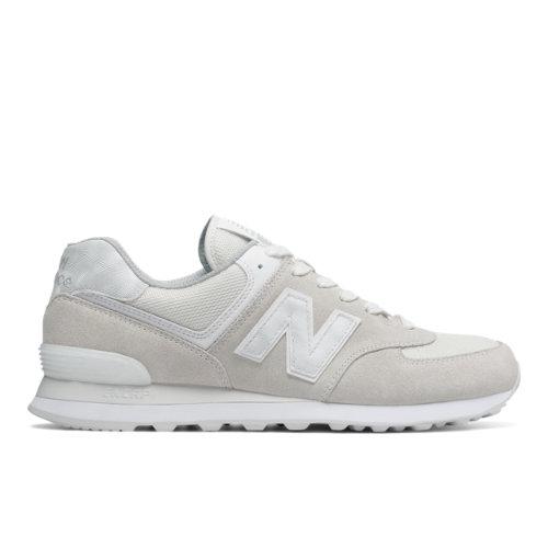 New Balance 574 Men's 574 Shoes - Off White / White (ML574SEF)
