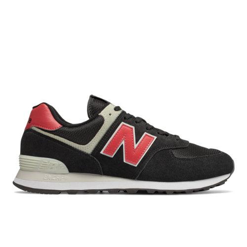 New Balance 574 Men's Sneakers Shoes - Black (ML574SMP)