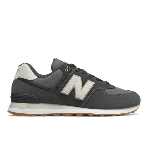 New Balance 574 Men's Sneakers Shoes - Dark Grey (ML574SNL)