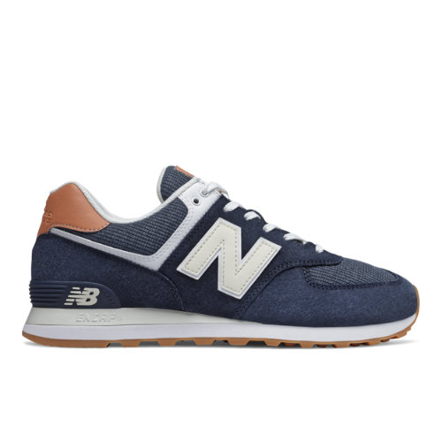 New Balance 574 Men's Running Classics Shoes - Navy (ML574TYA)