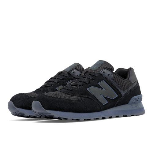 New Balance 574 Urban Twilight Men's 574 Shoes - Black / Grey (ML574UWB)