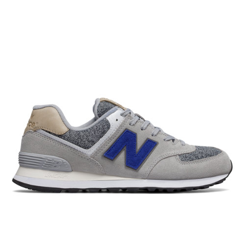 New Balance 574 Classic Men's Sneakers Shoes - Grey / Blue (ML574VAH)