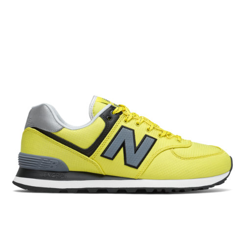 New Balance 574 Men's Lifestyle Shoes - Yellow (ML574WR2)