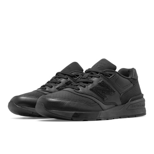 New Balance 597 New Balance Men's Running Classics Shoes - Black (ML597BEX)
