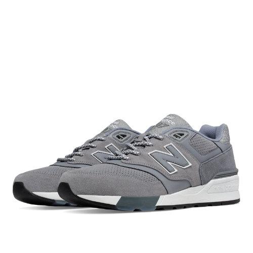 New Balance 597 Men's Shoes - Grey (ML597HTB)