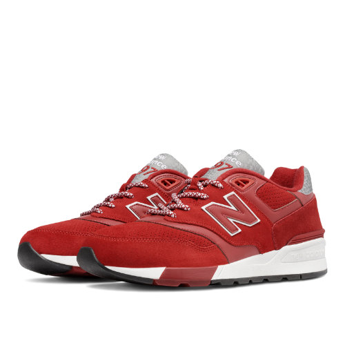 New Balance 597 Men's Shoes - Red (ML597HTC)