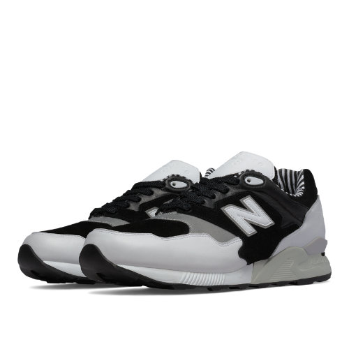 New Balance 878 90s Prep Men's Shoes - White / Black / Concrete (ML878NPA)