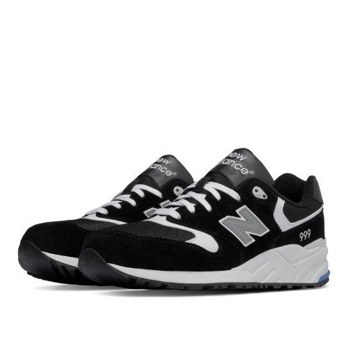 New Balance 999 90s Running Men's Shoes - Black / White (ML999LUR)