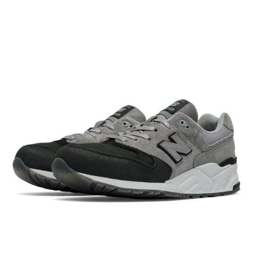 New Balance 999 Canvas Waxed Men's Elite Edition Shoes - Grey / Black (ML999WXA)