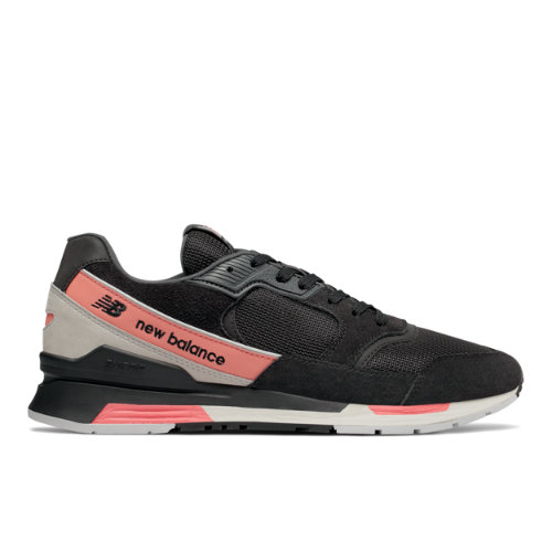 New Balance 99H Men's Running Classics Sneakers Shoes - Black / Pink (ML99HSB)