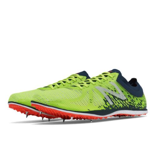 New Balance LD5000v4 Spike Men's Track Spikes Shoes - Yellow / Green (MLD5KYG4)