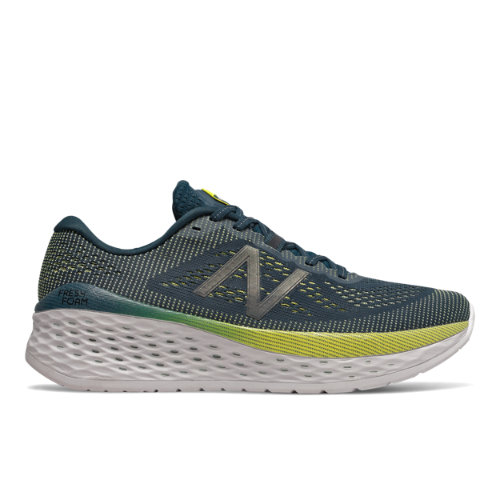 New Balance Fresh Foam More Men's Running Shoes - Green / Blue (MMORCB)