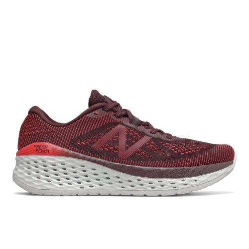 New Balance Fresh Foam More Men's Running Shoes - Red (MMORHN)