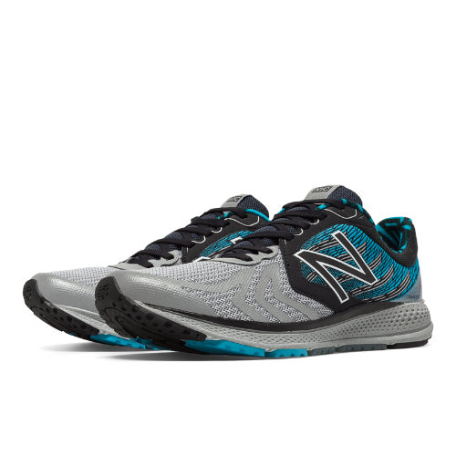 New Balance Vazee Pace v2 NYC Men's Speed Shoes - Black / Silver / Blue (MPACENY2)