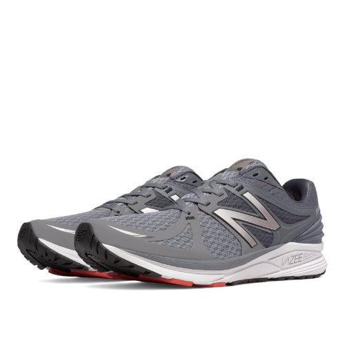 New Balance Vazee Prism Men's Shoes - Grey / Red (MPRSMGR)