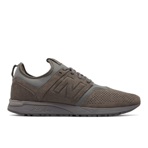 New Balance Suede 247 Men's Sport Style Shoes - Grey (MRL247CA)