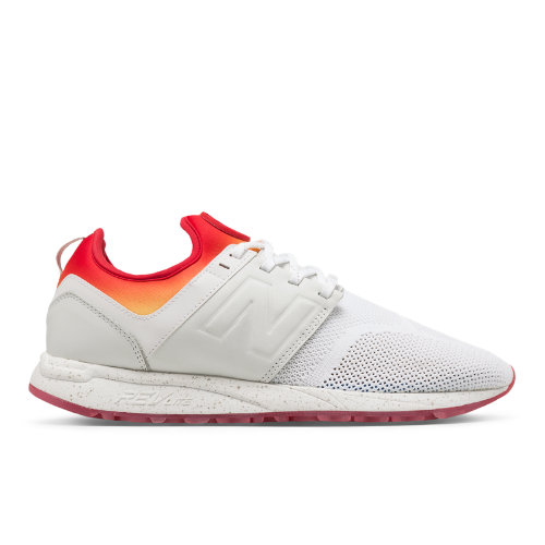 New Balance x Stance 247 Men's Sport Style Shoes - White / Red (MRL247CO)