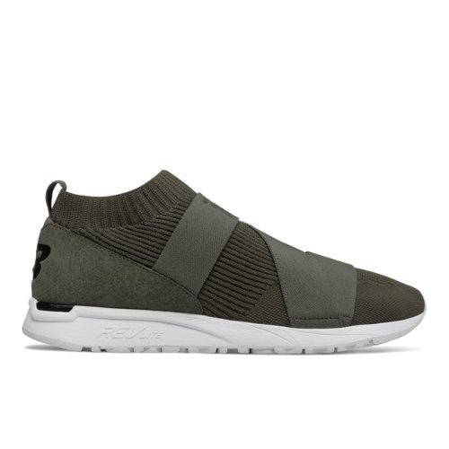 New Balance 247 Knit Men's Sport Style Sneakers Shoes - Military Green (MRL247KG)