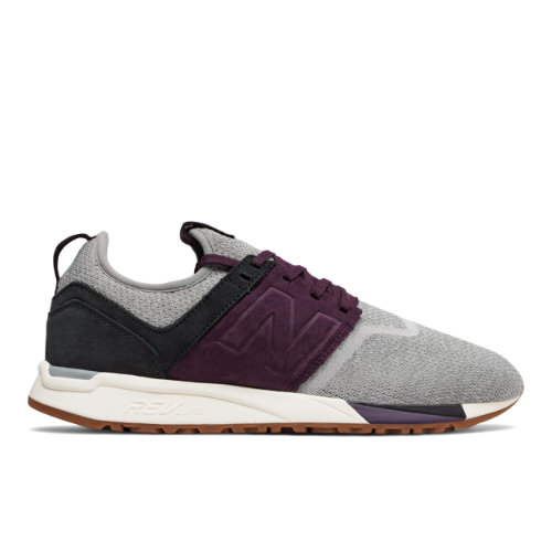 New Balance 247 Luxe Men's Sport Style Shoes - Grey / Purple (MRL247LM)