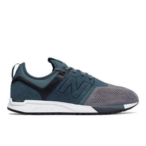New Balance 247 Luxe Men's Sport Style Shoes - Orion Blue / Grey (MRL247N3)