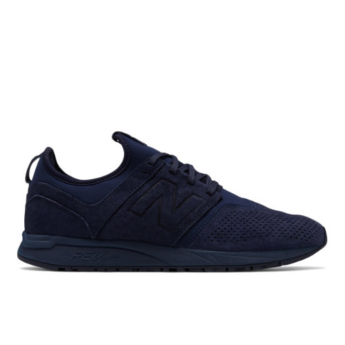 New Balance Suede 247 Men's Sport Style Shoes - Navy (MRL247NA)
