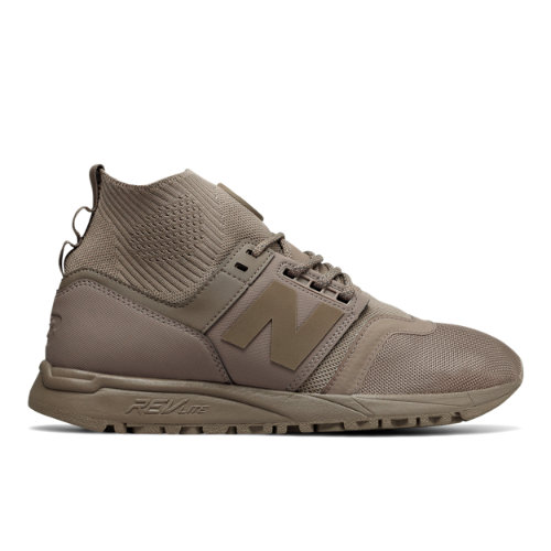 New Balance 247 Mid Men's Sport Style Mid-Cut Shoes - Military Brown (MRL247ON)