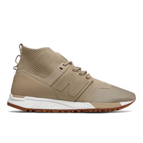 New Balance 247 Mid Men's Sport Style Mid-Cut Shoes - Beige (MRL247OY)