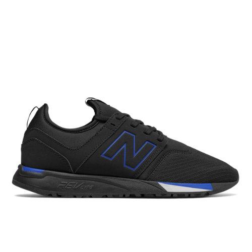 New Balance 247 Classic Men's Sport Style Shoes - Black / Blue (MRL247PR)