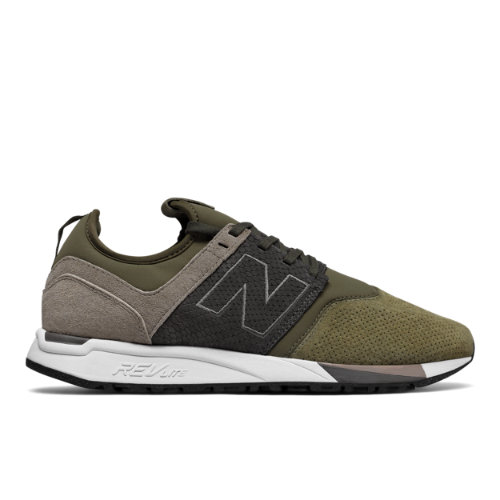 New Balance 247 Luxe Men's Sport Style Shoes - Military Green (MRL247RG)