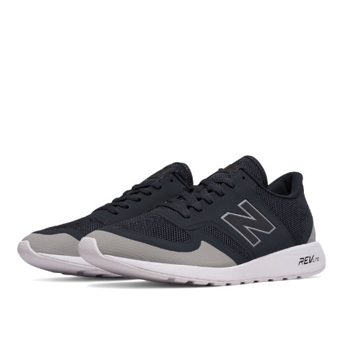 New Balance 420 Re-Engineered Men's Sport Style Sneakers Shoes - Navy / Light Grey (MRL420GB)