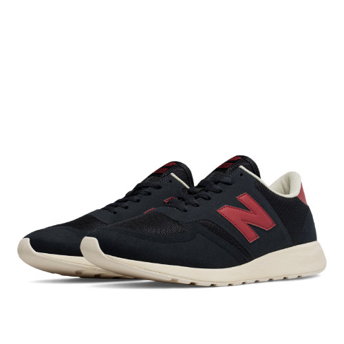 New Balance 420 Re-Engineered Suede Men's Shoes - Navy / Red (MRL420NR)