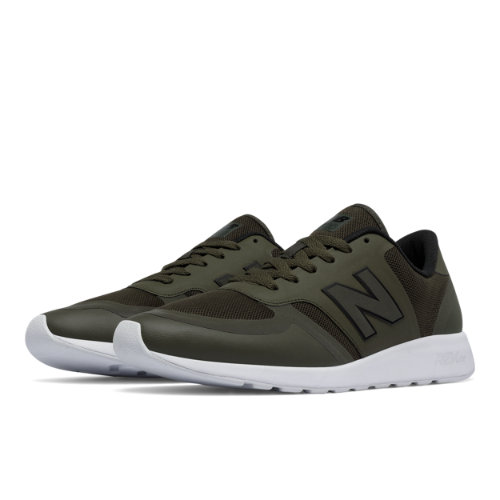 New Balance 420 Reflective Re-Engineered Men's Sport Style Sneakers Shoes - Green (MRL420OB)