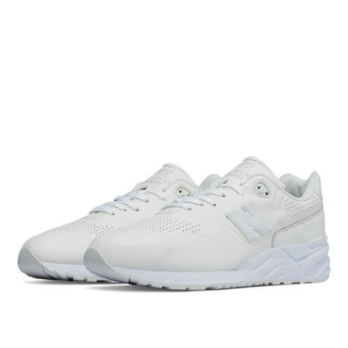 New Balance 999 Deconstructed 90s Running Leather Men's Shoes - White (MRL999AH)