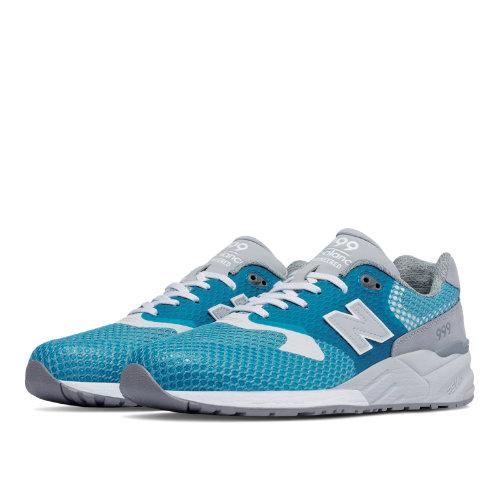 New Balance 999 Re-Engineered 90s Running Men's Shoes - Mosaic Blue / Delphinium Blue (MRL999AK)