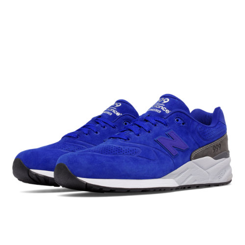 New Balance 999 Re-Engineered Suede Men's Sport Style Sneakers Shoes - Blue / Grey (MRL999BB)